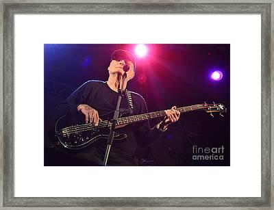 Lee Dorman - Classic Rock Bassist Framed Print by Carlos Alkmin