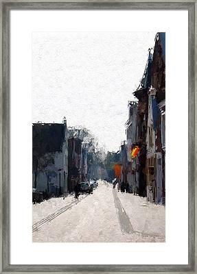 Leer Altstadt Framed Print by Stefan Kuhn