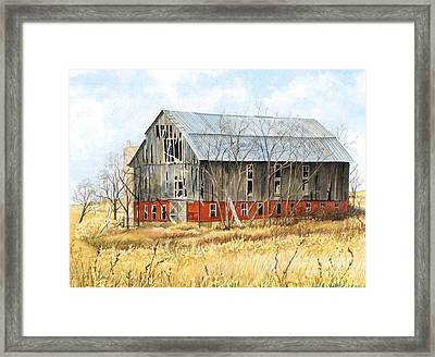 Left Behind Framed Print by Barbara Jewell