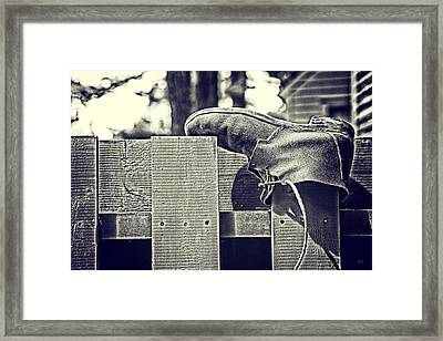 Left Behind Framed Print by Karol Livote