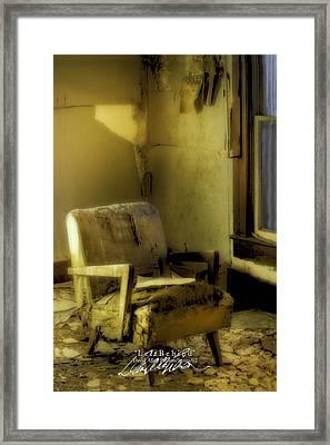 Left Behind-series 02 Framed Print by David Allen Pierson