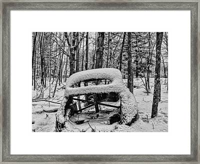 Left To Rust Framed Print by Paul Freidlund