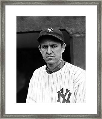 Lefty Gomez No Smile Framed Print by Retro Images Archive