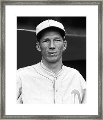 Lefty Grove Close Up Framed Print by Retro Images Archive
