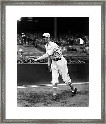 Lefty Grove Light Warm Up Framed Print by Retro Images Archive
