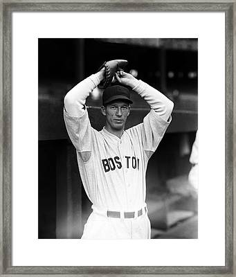 Lefty Grove Looking Forward At Camera Framed Print by Retro Images Archive