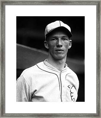Lefty Grove Looking Forward Framed Print by Retro Images Archive