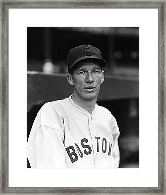 Lefty Grove One Foot Follow Through Framed Print by Retro Images Archive