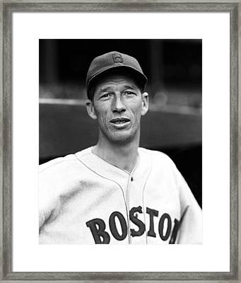 Lefty Grove Outside Dug Out Framed Print by Retro Images Archive
