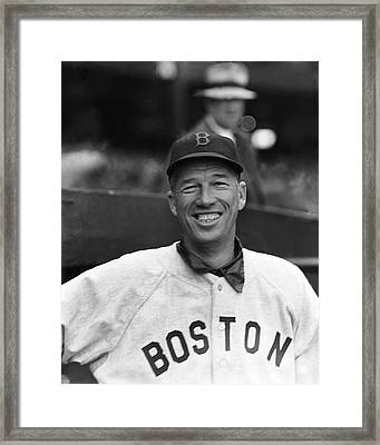Lefty Grove Smiling Framed Print by Retro Images Archive