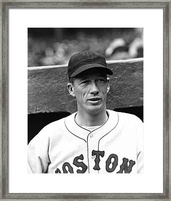 Lefty Grove Wind Up Framed Print by Retro Images Archive