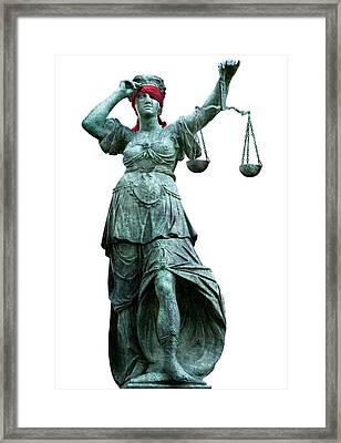 Legal Objectivity Framed Print by Smetek