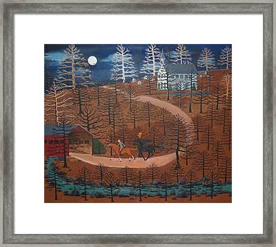 Legend Of Sleepy Hollow Framed Print by Susan Henke