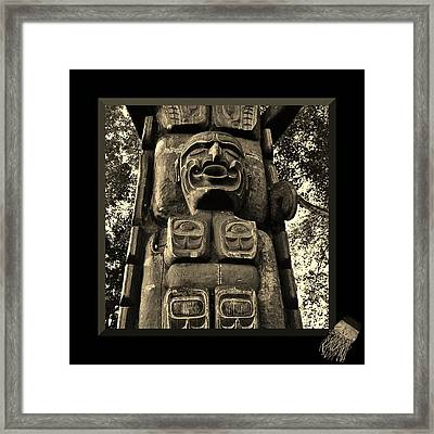 Legends Of My People Framed Print by Barbara St Jean