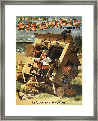 Leggo The Anchor Framed Print by Aged Pixel