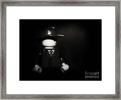 Lego Film Noir 1 Framed Print by Cinema Photography