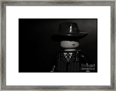 Lego Film Noir II Framed Print by Cinema Photography