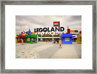 Legoland California Framed Print by Ricky Barnard