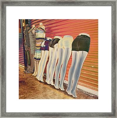 Legs 846a Framed Print by Rudy Umans