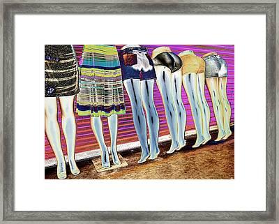 Legs 847a Framed Print by Rudy Umans