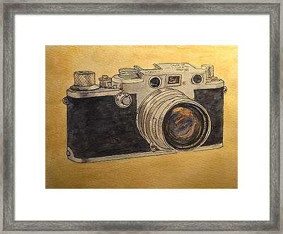 Leica IIif Framed Print by Juan  Bosco