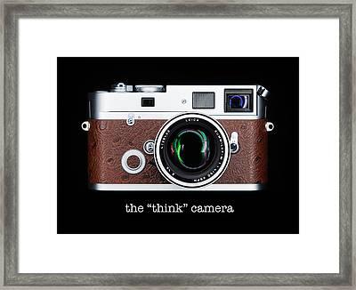 Leica M7 Framed Print by Dave Bowman