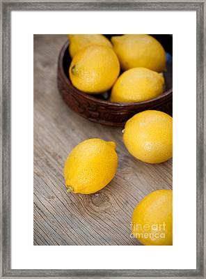 Lemons Framed Print by Viktor Pravdica