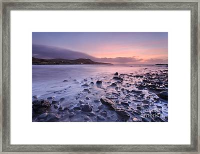 Lendalfoot Framed Print by Rod McLean