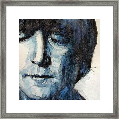 Lennon Framed Print by Paul Lovering