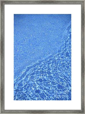 Lensing, Caustics & Chromatic Aberration Framed Print by David Parker
