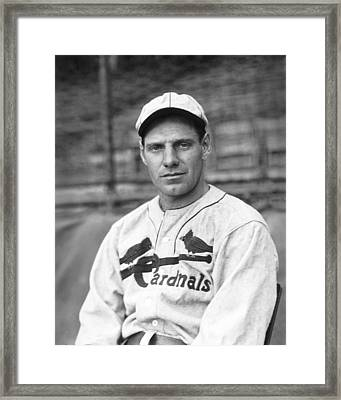 Leo Durocher Looking Forward Framed Print by Retro Images Archive