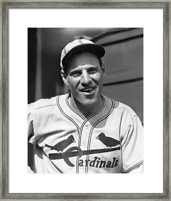 Leo Durocher Smiles Framed Print by Retro Images Archive