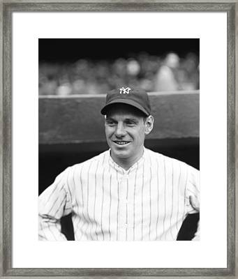 Leo Durocher With The Yankees Framed Print by Retro Images Archive