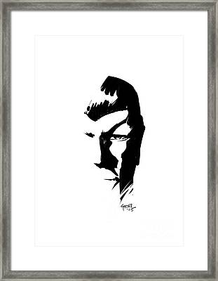 Leonard Nimoy Spock Tribute Framed Print by Ashraf Ghori