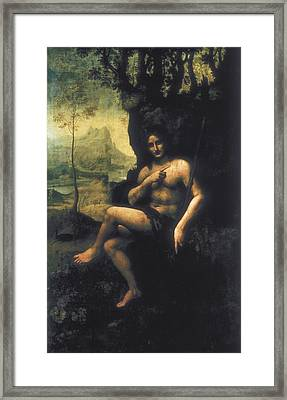 Leonardo Da Vinci, School Of First Half Framed Print by Everett