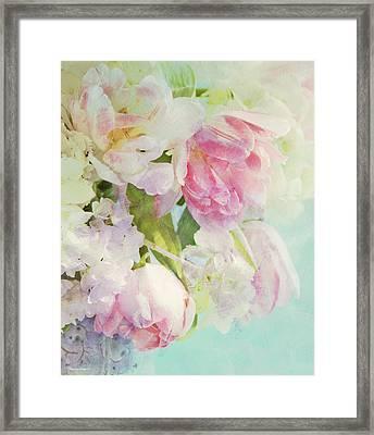 Les Fleurs Framed Print by Theresa Tahara