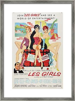 Les Girls Framed Print by MMG Archives