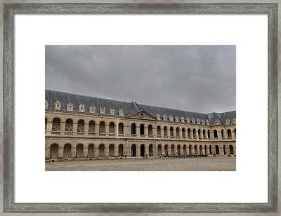 Les Invalides - Paris France - 011317 Framed Print by DC Photographer