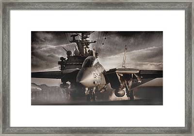 Let It Rain Framed Print by Peter Chilelli