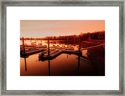 Let It Shine Framed Print by Lourry Legarde