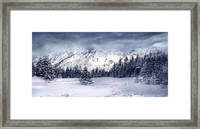Let It Snow Framed Print by Svetlana Sewell