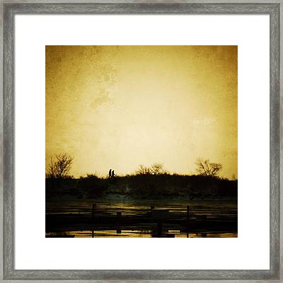 Let Me Come To Be Still In Your Silence...and Let Me Talk To You With Your Silence... Framed Print by Natasha Marco
