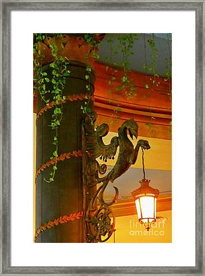 Let Me Light That For You Framed Print by John Malone