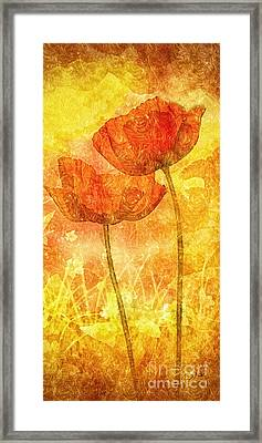 Let Me Love You Framed Print by Mo T