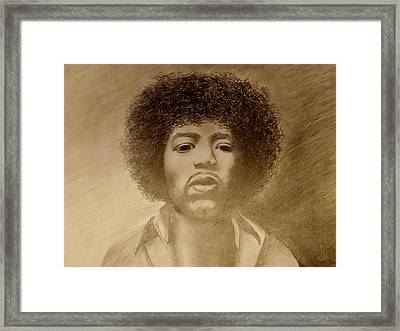 Let Me Stand Next To Your Fire Framed Print by Elizabeth Sullivan