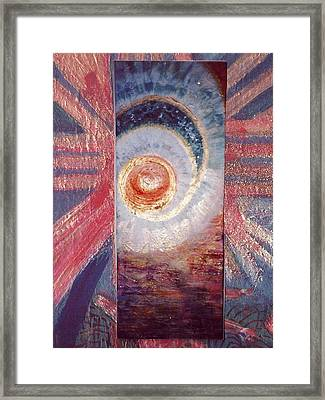 Let The Sunshine In Framed Print by Anne-Elizabeth Whiteway