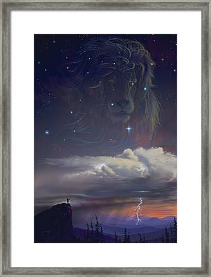 Let The Wind Blow Framed Print by Cliff Hawley