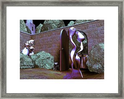 Let Us Retern Home Framed Print by Gallery Nex