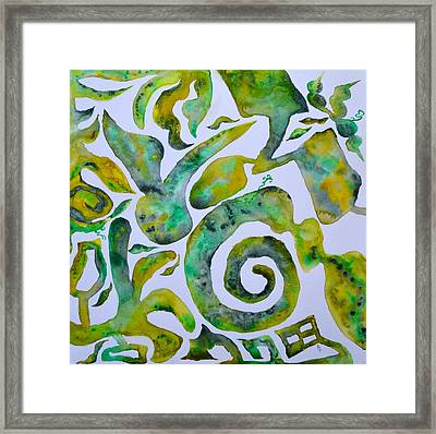Let Your Laughter Fill The Room Framed Print by Beverley Harper Tinsley