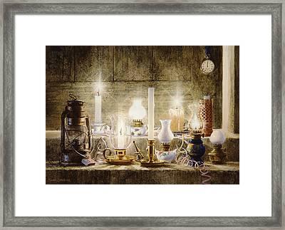 Let Your Light Shine Framed Print by Graham Braddock